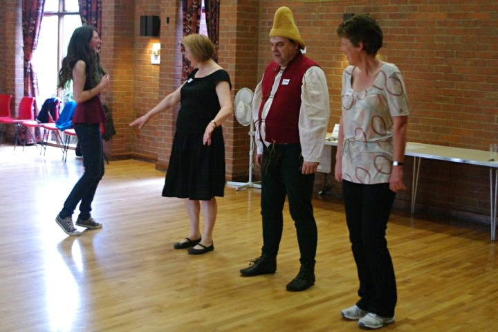 A A Deb on Square Dance Basic Steps
